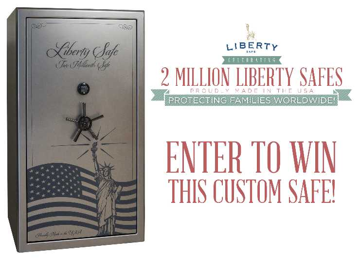 Liberty Safe - Custom Made 2 Millionth Safe Sweepstakes