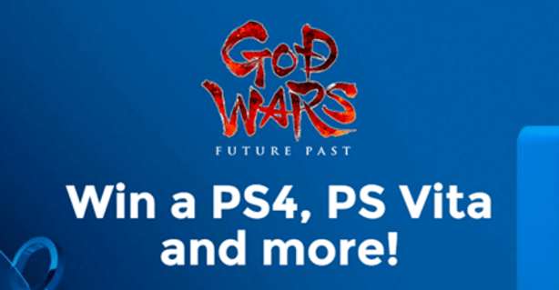 PS4, PS Vita, and More Sweepstakes
