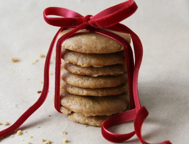 Bourbon Ahornsirup Cookies