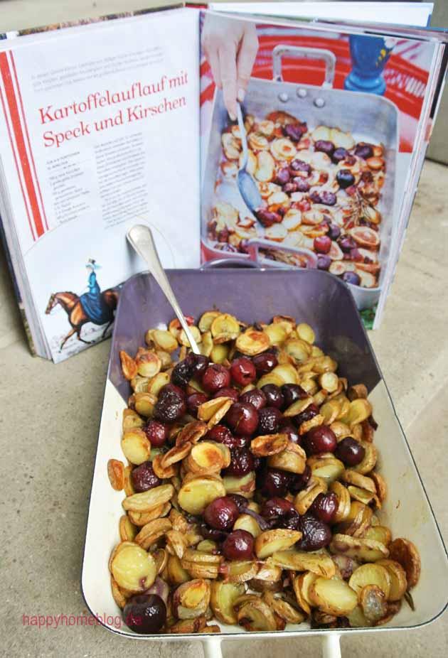 Kartoffeln mit Kirschen und Speck aus Lisa Lemke Sommerküche