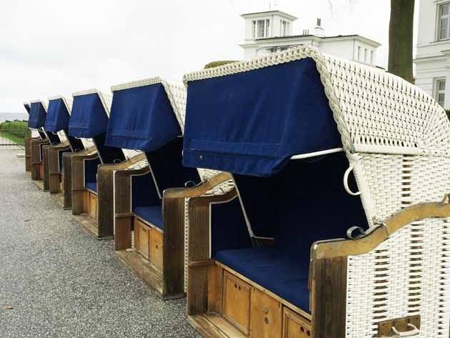 Starndkörbe am der Ostsee Grand Hotel Heiligendamm Ostsee