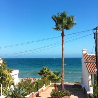 Costa del Sol im August Sonne Strand Palmen und Meer by happyhomeblog.de