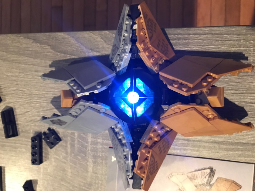 Destiny 2's Exotic Weapons in LEGO Form – Happy Hour from the Tower