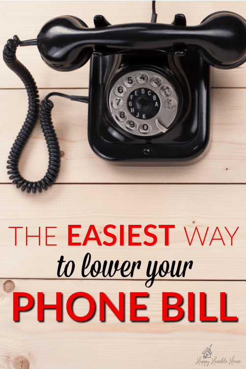 The Easiest way to Lower your Phone Bill - I could not believe how easy it ways to drastically cut my cell phone costs using this simple strategy. It totally works!! You have to try this if you are paying too much for your phone.