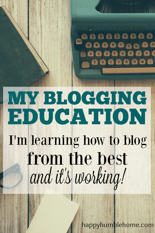 My Blogging Education: I'm learning how to blog from the best and it's working! This is exactly what I needed to take my blog to the next level. So much helpful information! Must read!