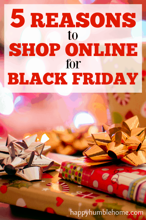 5 Reasons to Shop Online for Black Friday-- Wow! I learned so much about how to get the best deal from this post. #3 is my favorite! I'm going to save SO MUCH MONEY! You have to read this!!
