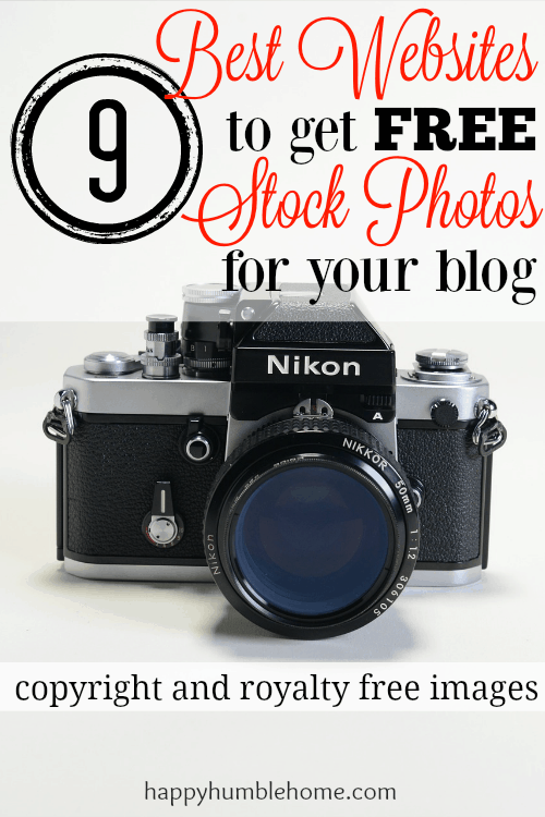 9 Best Websites to get Free Stock Photos for your Blog - Copyright-free, Royality-free Beautiful Professional Photos for your blog. #9 is my favorite!!!