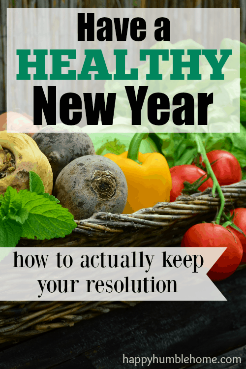 Have a Healthy New Year: how to actually keep your resolution! If you want to have a healthier new year you need to see this! So helpful!