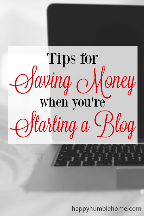 My First 3 Months Blogging - Tips for Saving Money when you're Starting a Blog so you can MAKE MONEY!