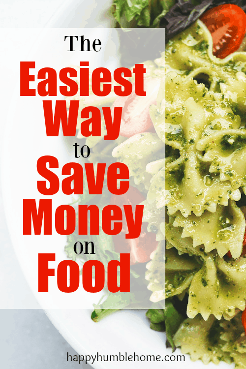 The Easiest Way to Save Money on Food! I made this one switch and now I'm saving hundreds on food every month!!