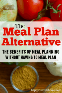 The Meal Plan Alternative