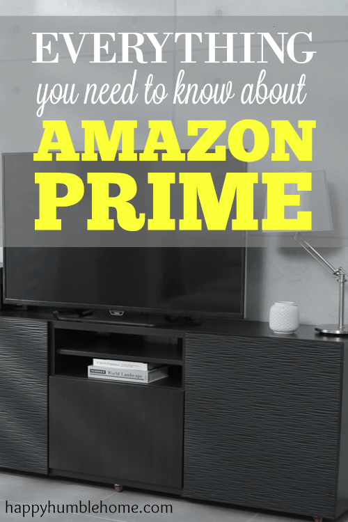 Everything you need to know about Amazon Prime. I save so much money using Amazon Prime, you can too!