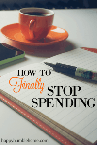 How to Finally Stop Spending