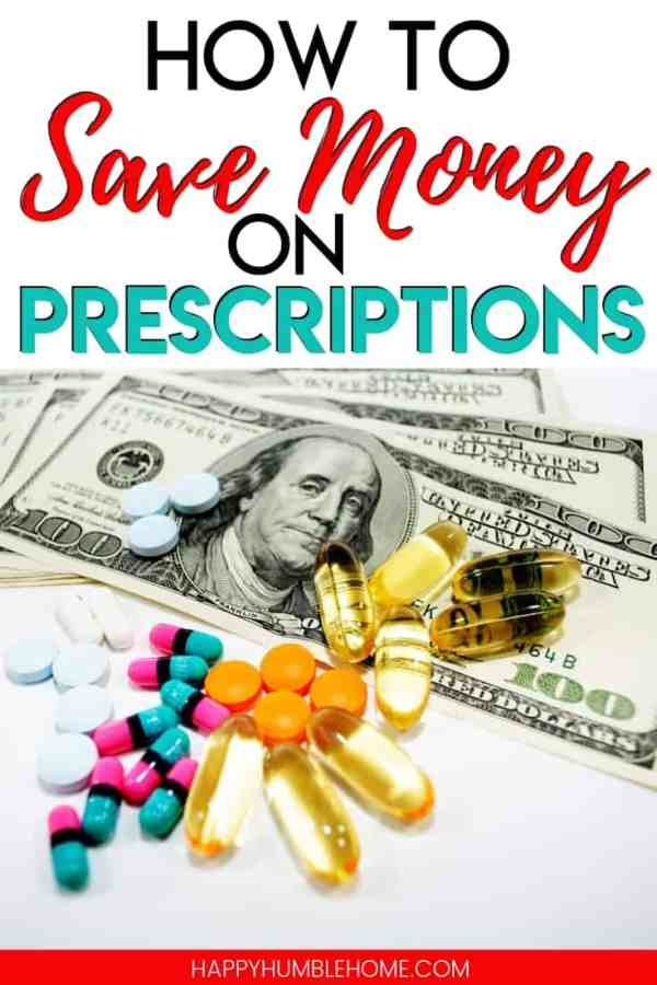 How to Save Money on Prescriptions - Stop spending so much on those little bottles of drugs! Learn how to get the same medicine for so much less with the simple, practical strategies in this post!