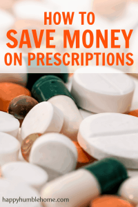 How to Save Money on Prescriptions