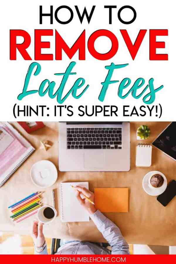 How to Remove Late Fees - Learn 2 simple strategies for removing late fees from your bills. Paying bills on time can be hard sometimes, so if you slip up, you'll want to know this information.