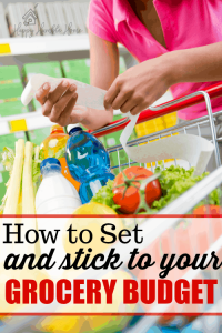 How to Set and Stick to a Grocery Budget