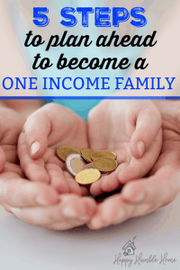 5 Steps to Plan Ahead to become a One Income Family