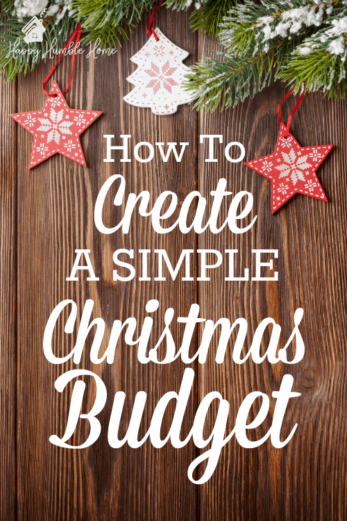 How to Create a Christmas Budget - Wow! This really helped me figure out how to budget for Christmas in an easy way! And I saved A LOT of money by doing this! Plus, there's a freebie!