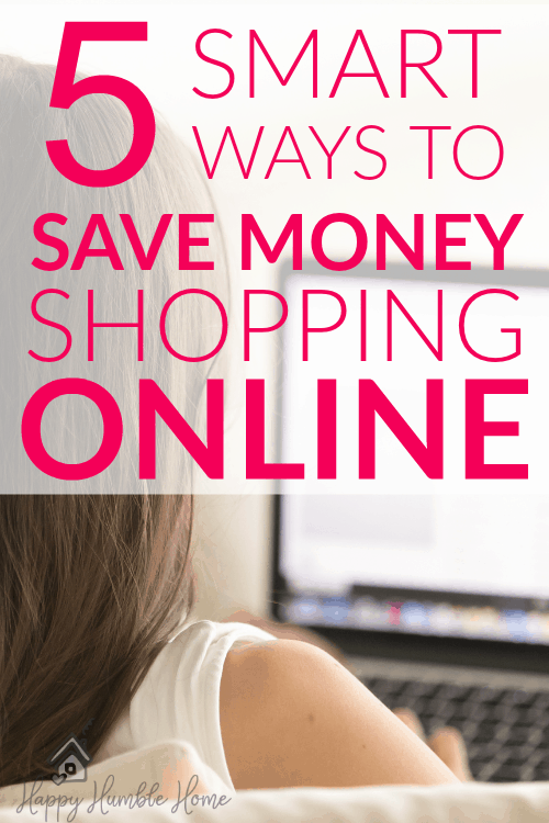 5 Smart Ways to Save Money Shopping Online