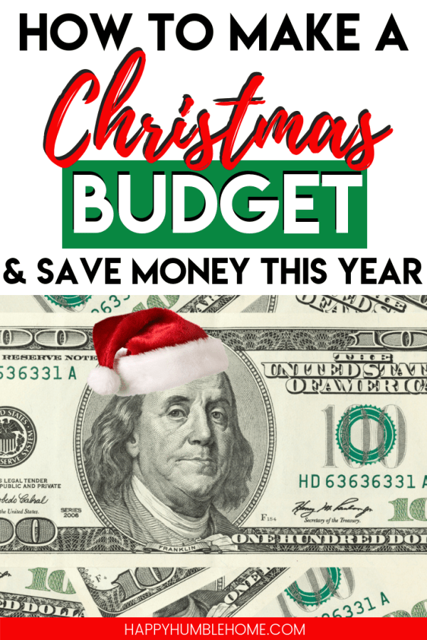 How to make a Christmas Budget and Save Money this year - A Step-by-Step guide to creating a Christmas Budget for a debt-free Christmas. Money Saving tips and Frugal Ideas so you can afford the holidays stress-free!