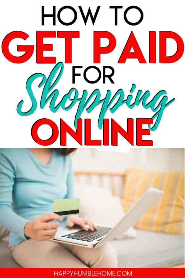 How to Get Paid for Shopping Online - Learn a simple hack that will earn you a check in the mail each time you shop online. Whether you're shopping for clothes, shoes, or home goods, this can work for you! I just got $211 in the mail!