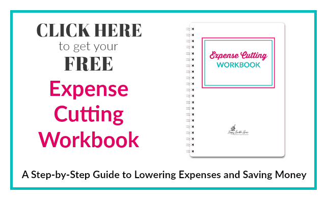 Expense Cutting Workbook - A step-by-step guide to lowering expenses and saving money