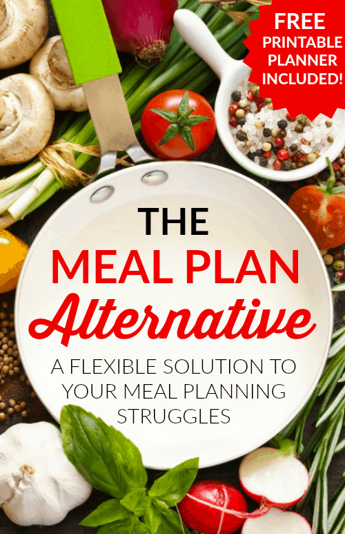 The Meal Plan Alternative - Wow! I've always struggled with meal planning! This flexible meal planning method is perfect for me!! I love how easy it is to do!!