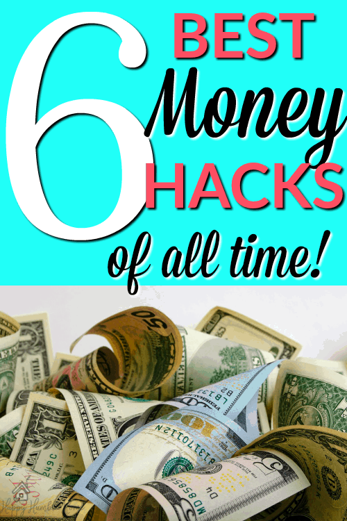 Best Money Hacks of all time - These foolproof, money saving hacks, are sure to work for anyone! Save money, spend less, and get out of debt with these classic money hacks.