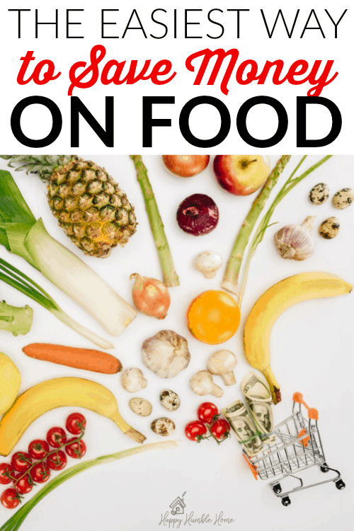 The Easiest way to Save Money on Food - Feeding your family doesn't have to be so expensive! Here's a really easy way to spend less money on your meals , and that means you can save more money!