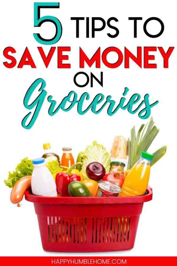 Learn to spend less on groceries