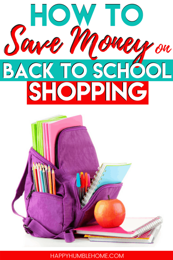 How to Save Money on Back to School Shopping - These simple tips are sure to help you stick to your budget and save big this back to school season! Read to learn how to get what you need for your back to school shopping without overspending.