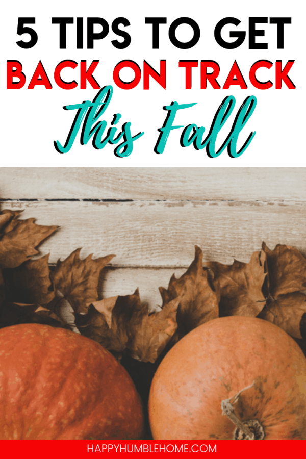 5 Tips to get back on track this fall - Recover from summer spending and set your family up for a successful school year with these easy ideas. Save money, stick to your budget, and simplify your life. It's easier than you think! #money #savemoney #savingmoney #frugal #budget