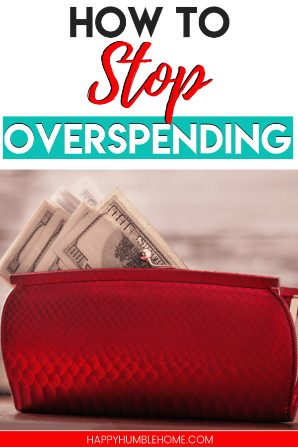 How to Stop Overspending - Are you shopping too much? Do you struggle to save money? This post is for you! Learn how to reduce your shopping expenses and budget better with these 3 simple tips! #savemoney #money #shopping #budgeting