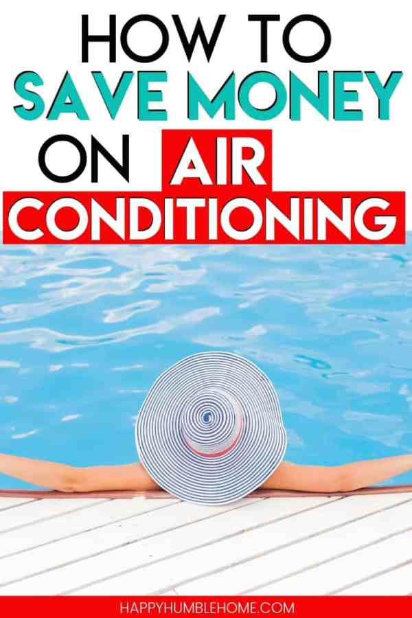 How to Save Money on Air Conditioning - Learn simple ways to lower your cooling bill this summer! Running central air systems to cool your home all summer long can really jack up your electricity bill, here are some easy strategies for lowering those costs and saving more money.