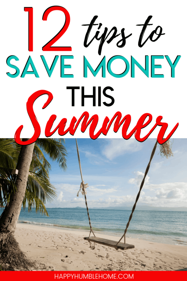 12 tips to save money this summer
