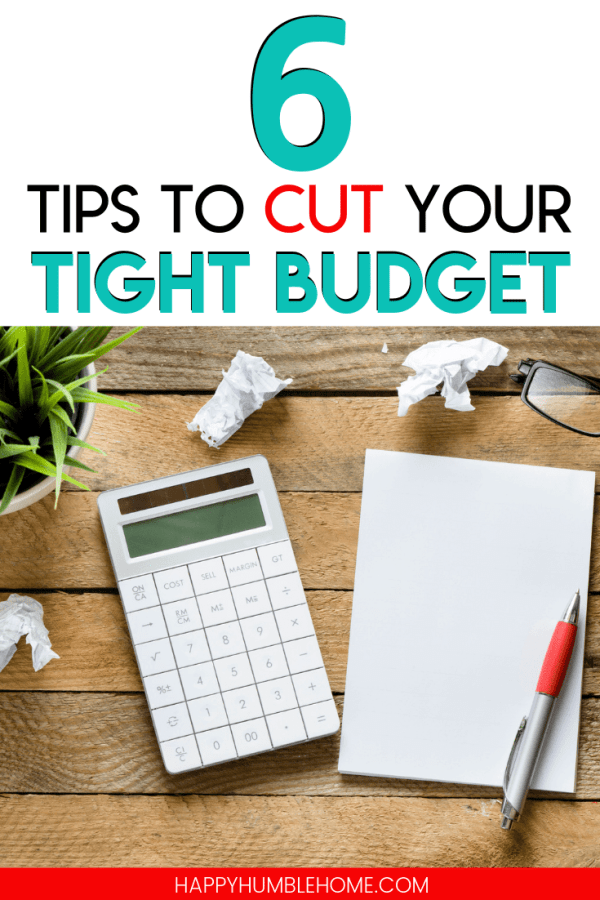 tips to cut your tight budget