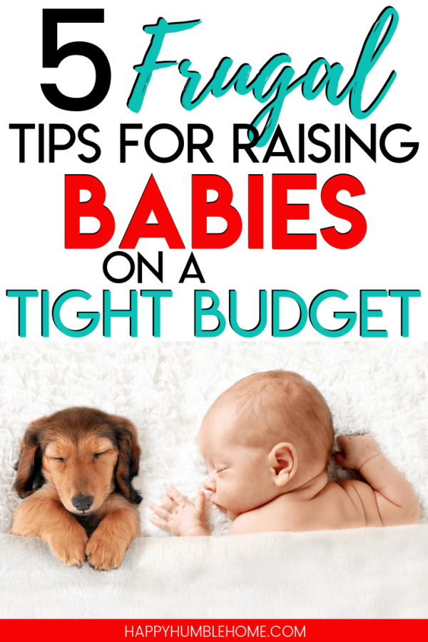 raising babies on a tight budget