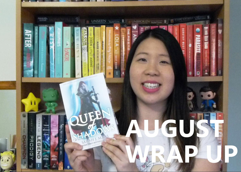 BookTube Video: August Wrap Up & September TBR
