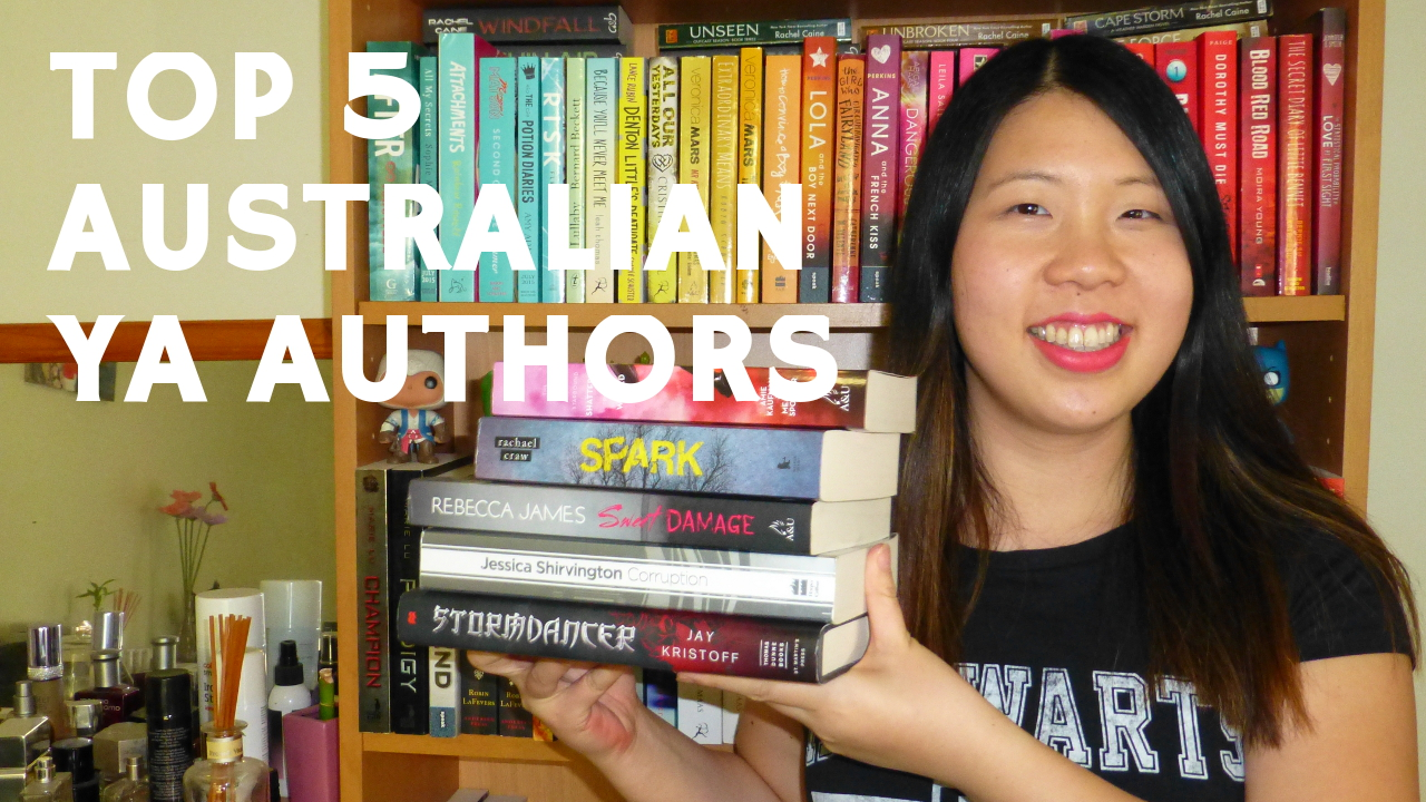 BOOKTUBE VIDEO: Top 5 Aussie YA Author Recommendations