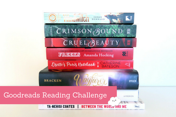 Goodreads Reading Challenge: In Which We All Fail, Except Aila