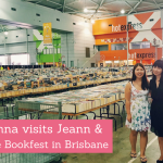 Happy Indulgence Meets: Jenna visits Jeann in Brisbane & Lifeline Bookfest!
