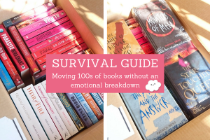 Survival Guide: Moving 100s of Books Without an Emotional Breakdown