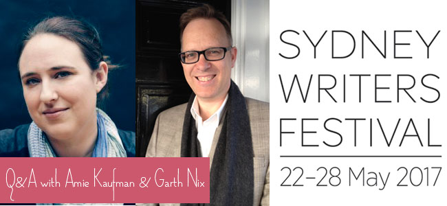 Q&A with Amie Kaufman & Garth Nix