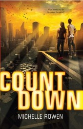 Countdown by Michelle Rowen Review: Reality TV show with psi & artificial intelligence