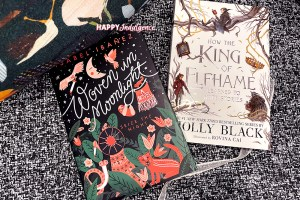 Fantasy Reviews: Woven in Moonlight & King of Elfhame Novella