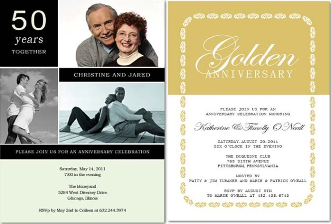 50th Wedding Anniversary Invitation Wording To Give You Inspiration In Making Online 574