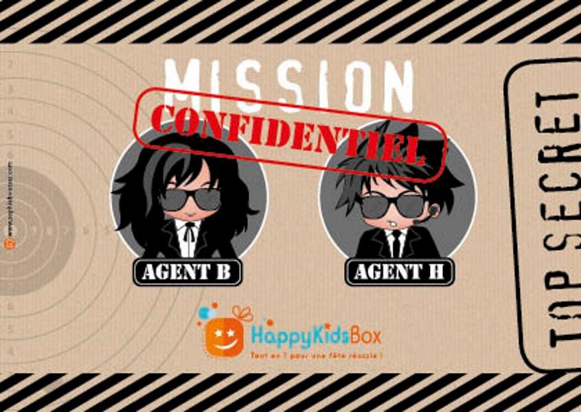 box anniversaire agent secret