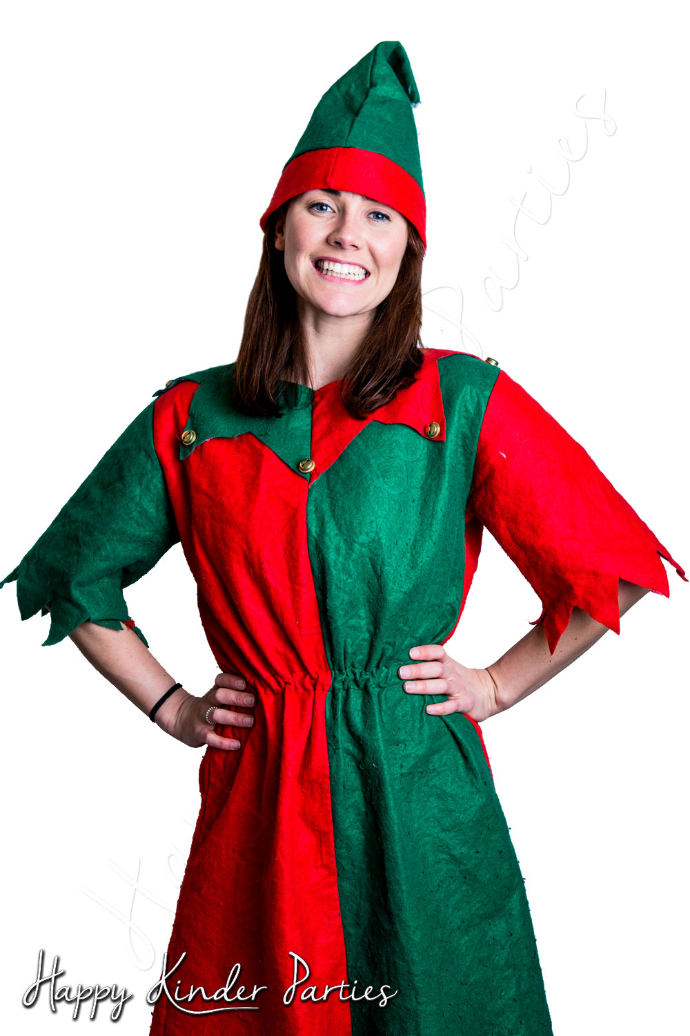 Elf Childrens Party Entertainer Costume