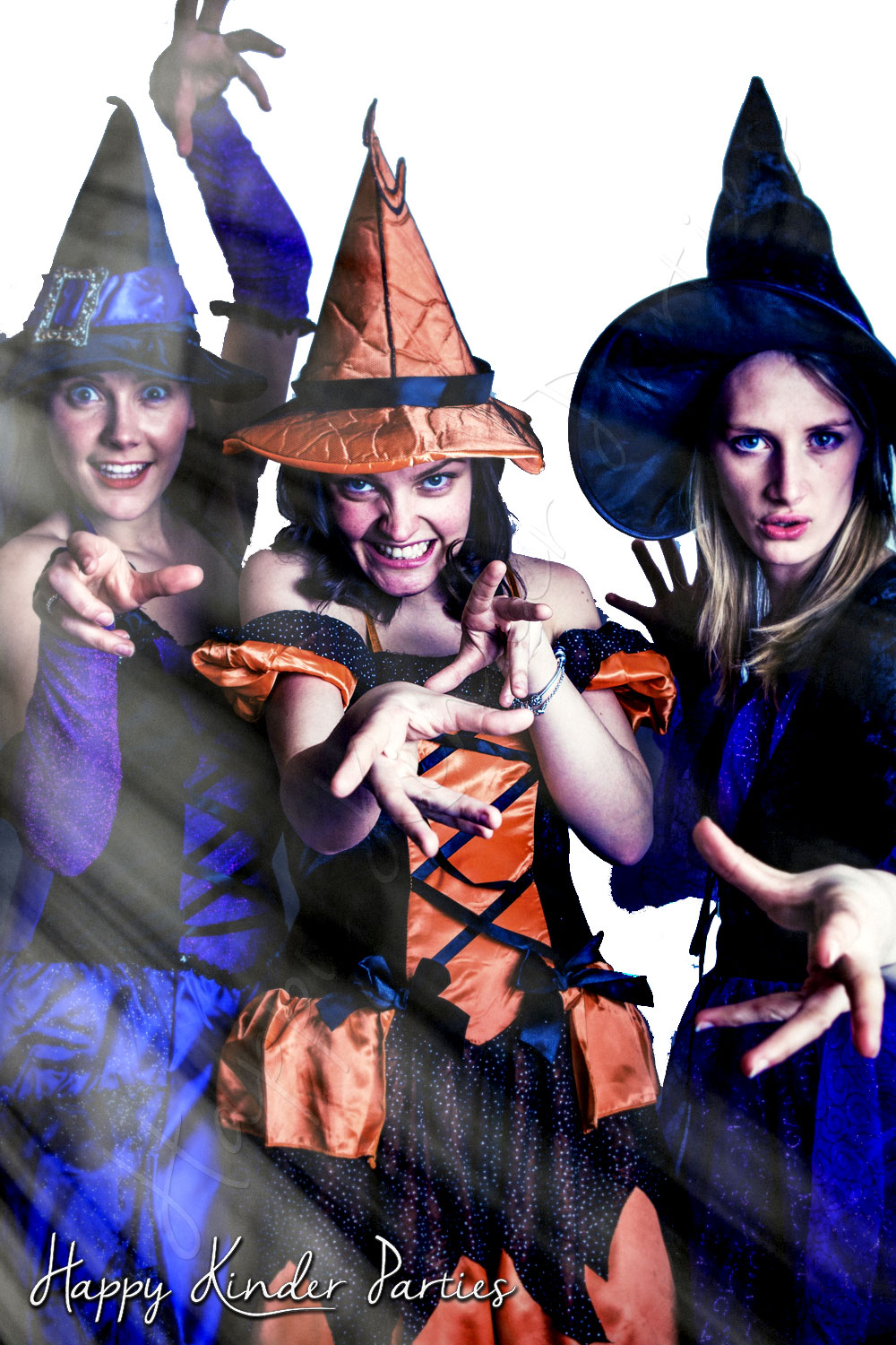 Witches Childrens Party Entertainer Costume